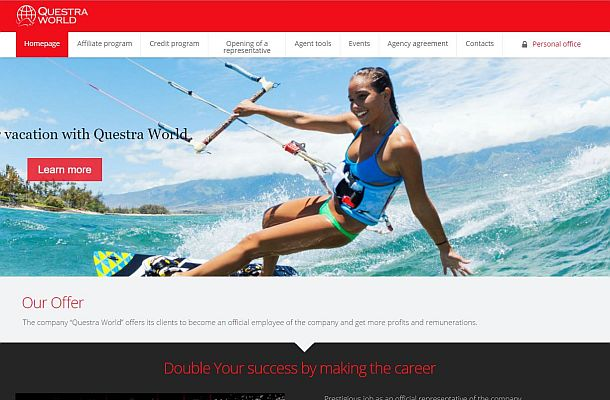 Rakouská FMA přidala na černou listinu Questra Holdings a Questra World