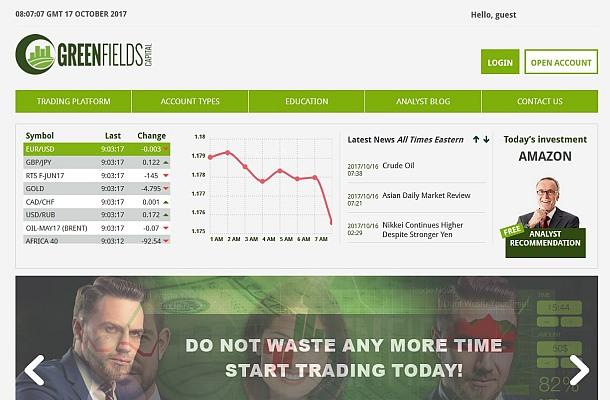 Pozor na brokera Greenfields Capital, je neregulovaný