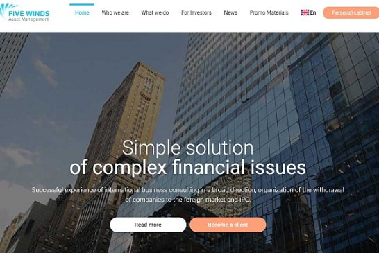 Pozor na Five Winds Asset Management a QW Lianora Swiss Consulting
