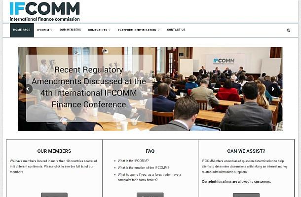 FINMA varuje před komisí IFCOMM
