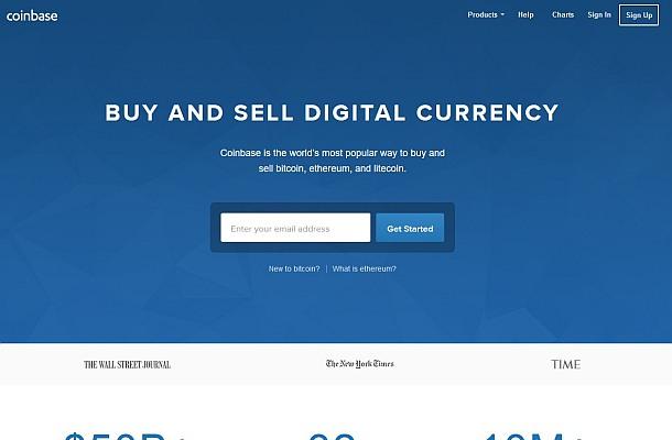 Coinbase přidá podporu ERC20 tokenů