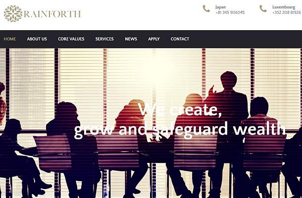 Rainforth je neregulovaný subjekt, konstatuje CSSF