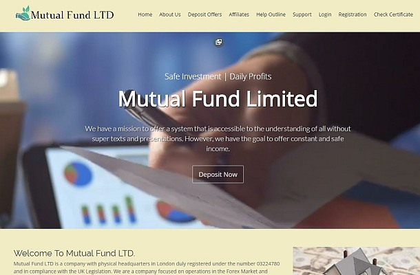 FCA varuje před Mutual Fund