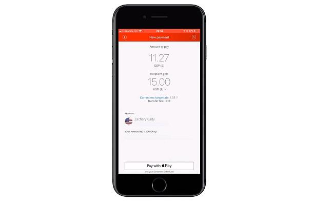 Ripple ukázal, jak funguje aplikace, kterou vyvinul pro Santander