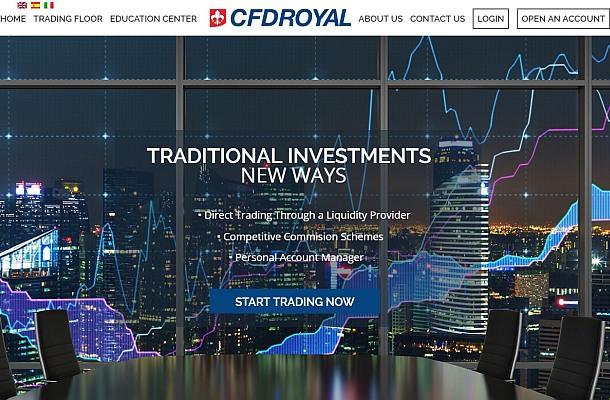 FCA varuje před CFD Royal