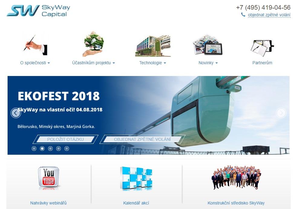 Regulátoři varují před SkyWay Capital