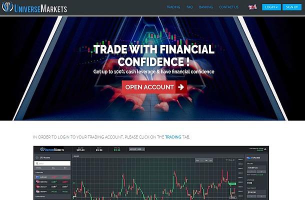 FMA považuje Universe Markets za podvod