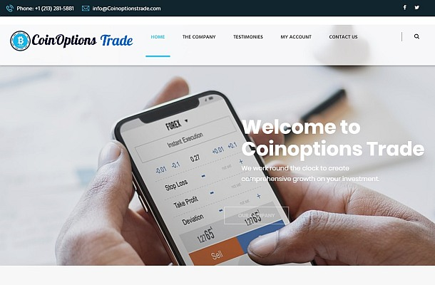Pozor na CoinOptions Trade a STC Forex