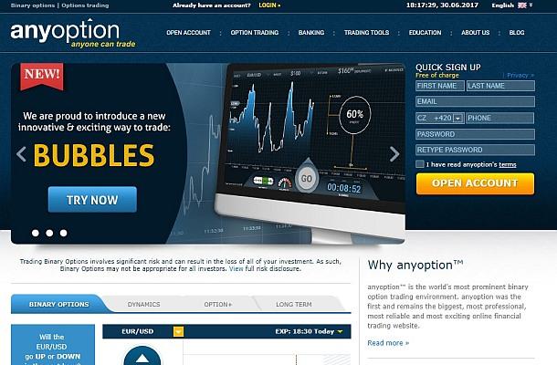 Provozovatel Anyoption a CopyOp se vzdal své licence