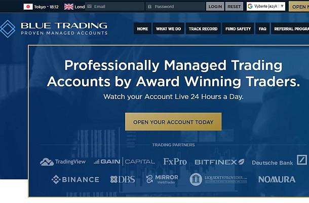 FCA varuje před Blue Trading a Richmond Investing