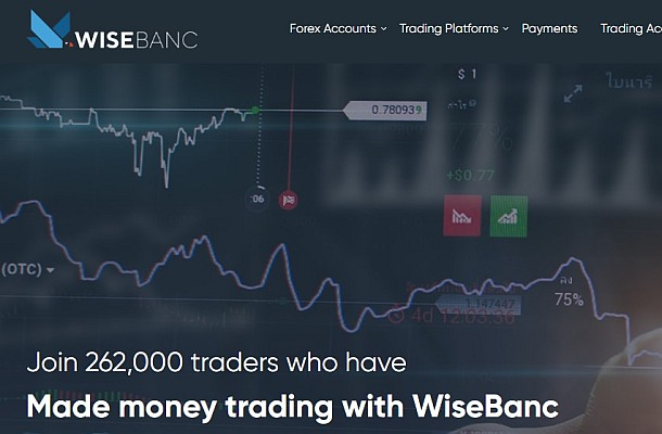 WiseBanc je neregulovaný broker, upozorňuje FCA