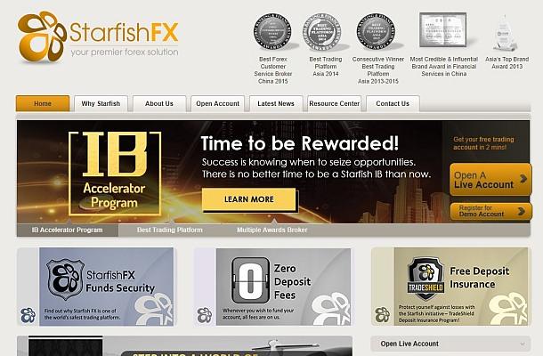 Od StarfishFX dává ruce dokonce i Financial Commission