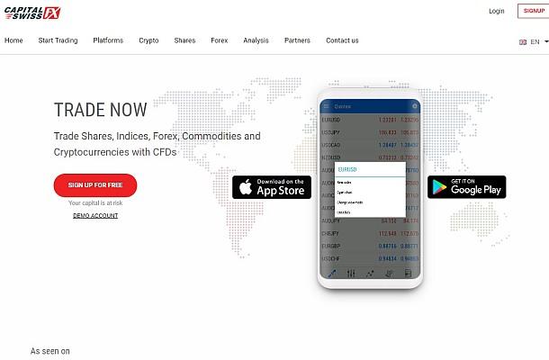 Pozor na Capital Swiss FX, Expert FX Trade, Top Algo Trade a 4XFX