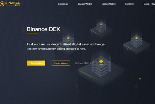 Binance spustila testovací verzi své decentralizované burzy