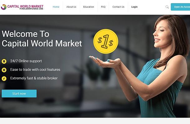 Varování před Capital World Market a Tradeinvest90