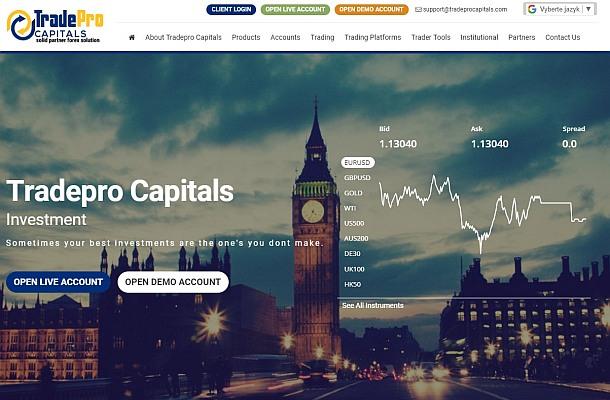 Broker Trade Pro Capitals