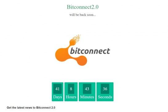 Bitconnect 2.0 – návrat masivního podvodu?