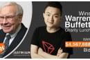 Sun dá 100 milionů za oběd s Buffettem, chce změnit jeho názor na kryptoměny