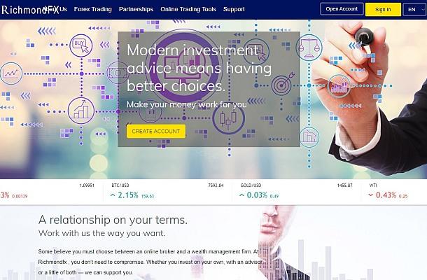 Varování před RichmondFX, GlobalFX, RMT500, Premium Brokers a AJ Asset Management