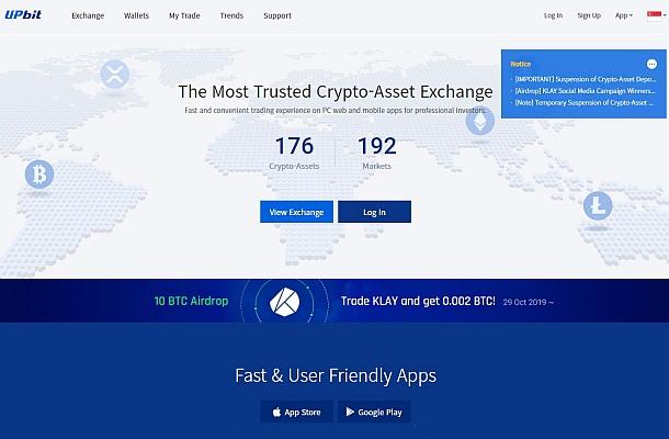 Burza UpBit přišla v rámci hacku o více než miliardu korun