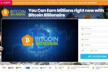 Bitcoin Billionaire je kryptoměnový podvod