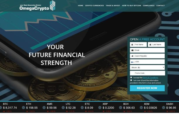 Pozor na Omega Crypto, Kodimax, IPO-FX, WVH, Traders Watch a Tradition Finance