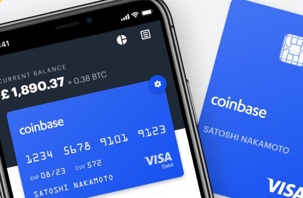 Kryptoměnová burza Coinbase se stala členem asociace Visa